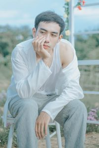 Diễn viên Thiên Lộc vai Huy trong phim Miền Ký Ức