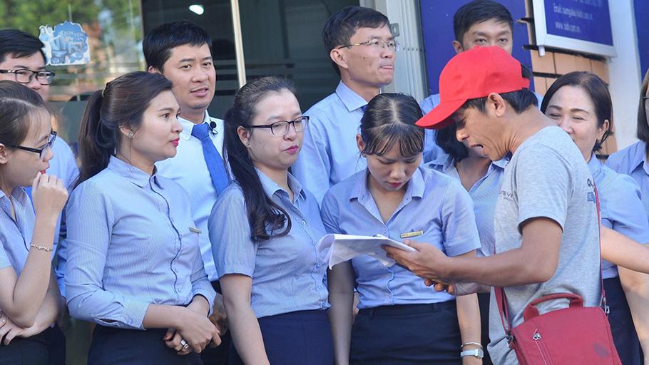 Hậu trường sản xuất phim QVFilm - BIDV Nam Gia Lai