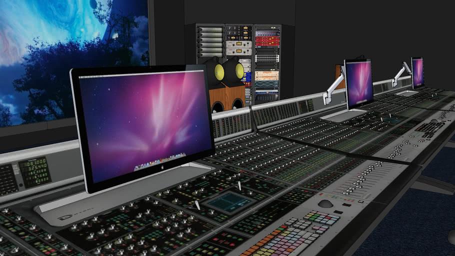 Hậu kỳ xử lý âm thanh tại hãng phim QVfilm