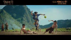 Cảnh phim Trạng Trí bối cảnh trận bóng bưởi
