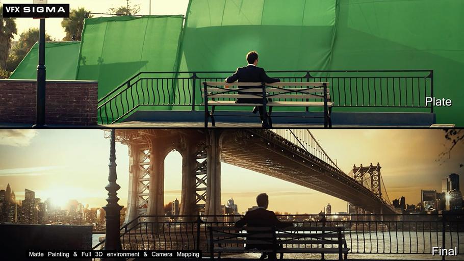 Hậu kỳ - kỹ xảo cho phim tại hãng phim QVFilm