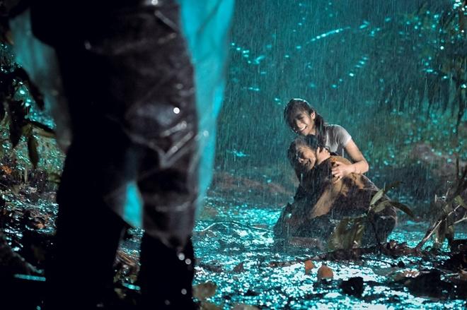 Những pha hành động trải dài gần như xuyên suốt đến cuối phim.