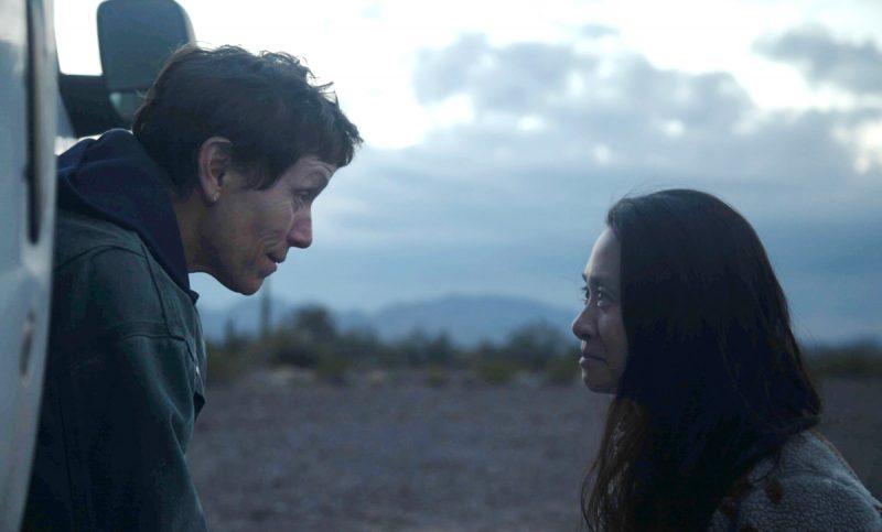 """Trong """"Nomadland"""", các nhà làm phim chủ yếu sử dụng ánh sáng tự nhiên để ghi hình. Ảnh: Searchlight Pictures"""